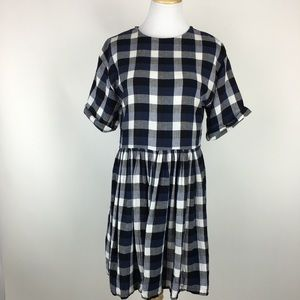 Urban Outfitters gingham checkered dress Sz XSmall